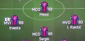 4-3-1-2 Barcelona