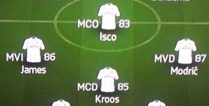 4-3-1-2 Madrid
