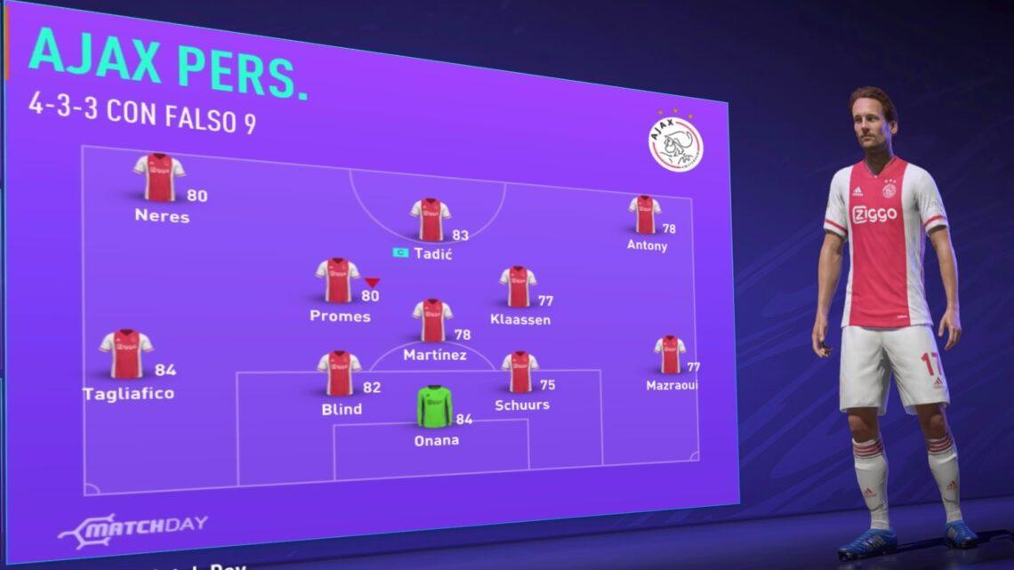 Ajax Fifa 21… Esperando a la siguiente generación de jugadores