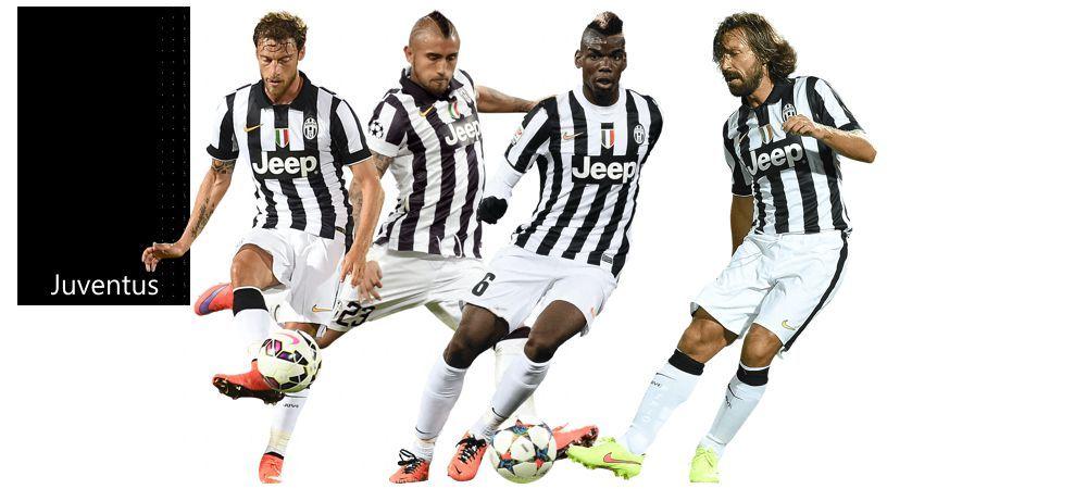 4-1-2-1-2 Rombo Cerrado Juventus