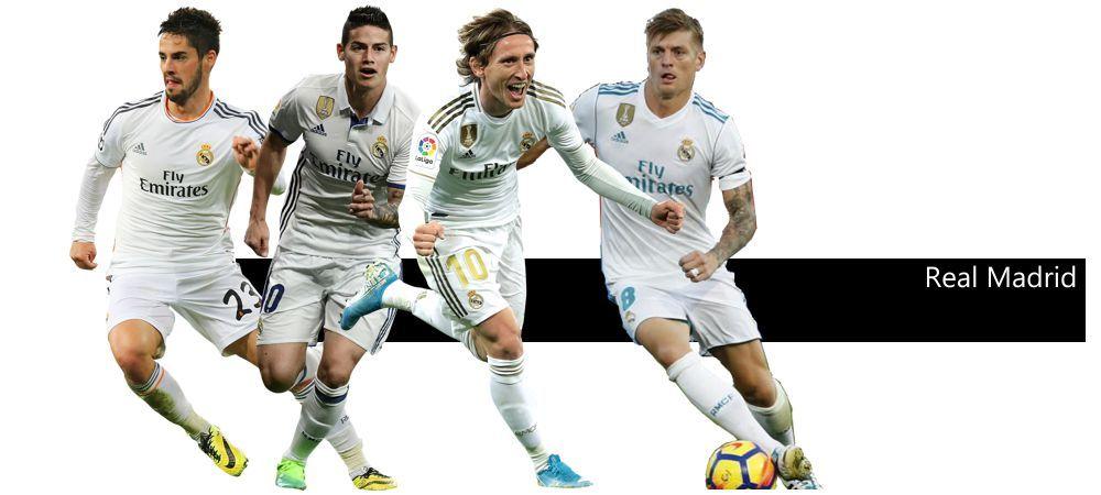 4-1-2-1-2 Rombo Cerrado Real Madrid