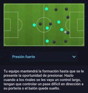 Estilo Defensivo Presión Fuerte Fifa 21