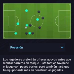 Estilo Ofensivo Posesión Fifa 21