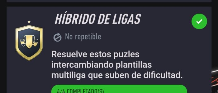 Híbrido de Ligas Fifa 21