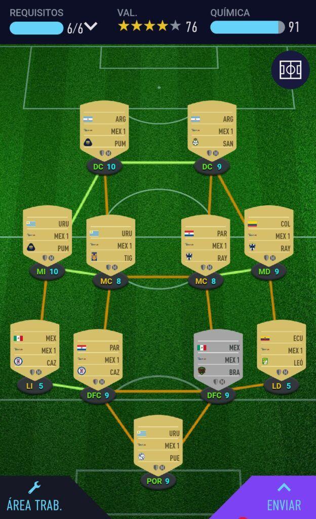 Seis de los mejores Fifa 21
