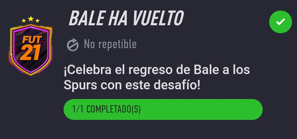 Bale ha vuelto…Desafío de Creación de Plantillas Fifa 21