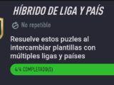 Híbrido de Liga y País, solución completa… Desafío de Creación de Plantillas Fifa 21