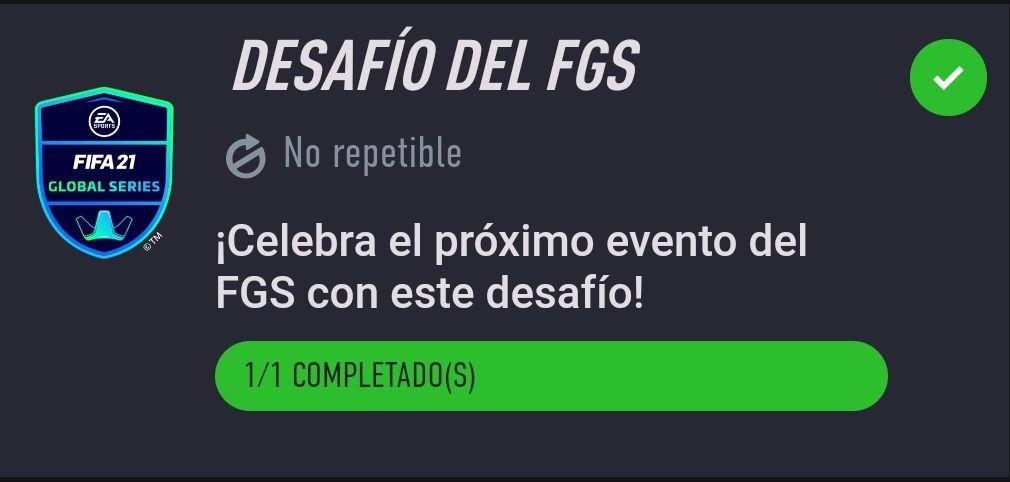 Desafío del FGS… Desafío de Creación de Plantillas Fifa 21